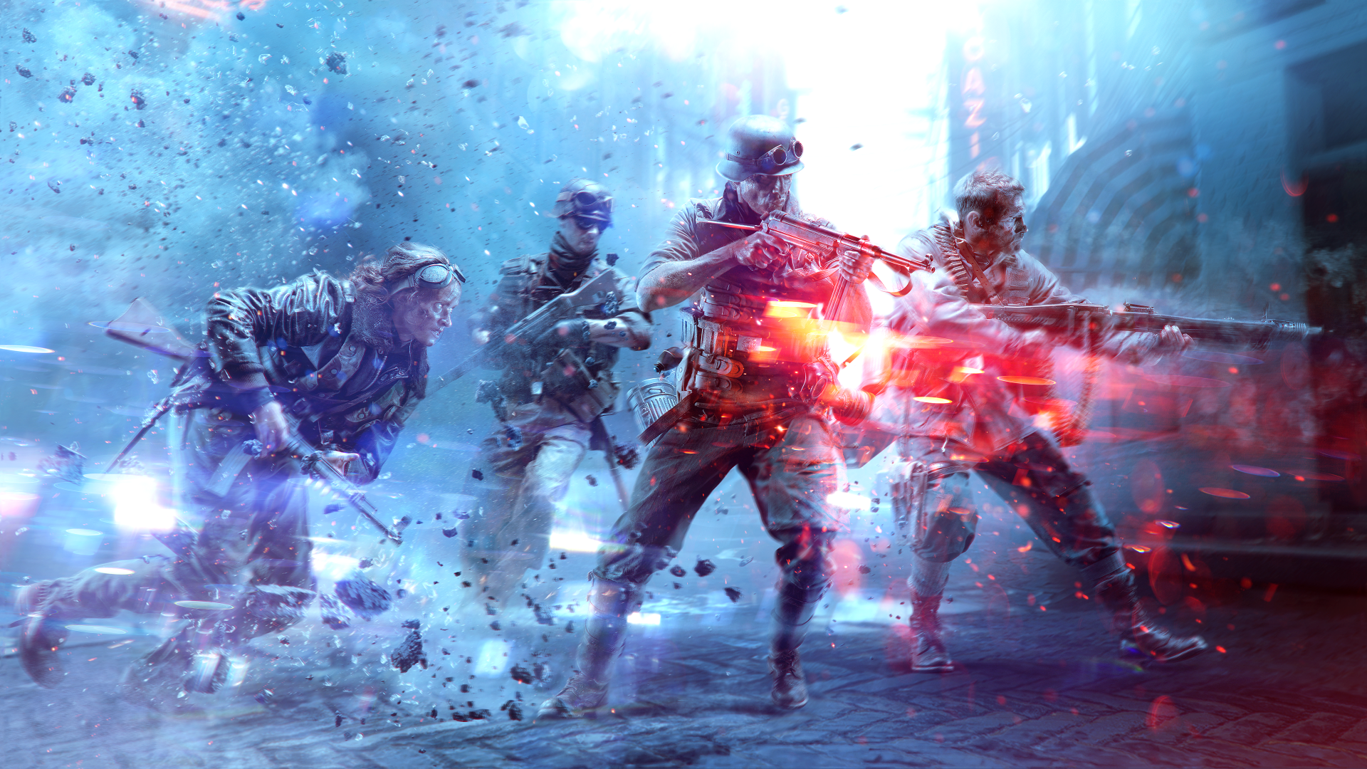 "<span class=""bbcode-text-purple"">Battlefield V</span> <span class=""bbcode-text-darkred"">Carousel</span> Entry #1"